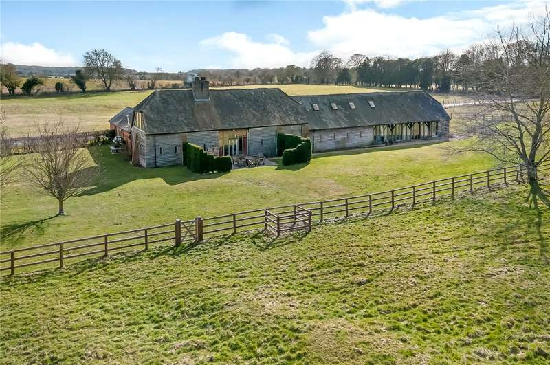 4 Bedrooms Detached House for sale in Chilton Candover, Alresford, Hampshire, SO24