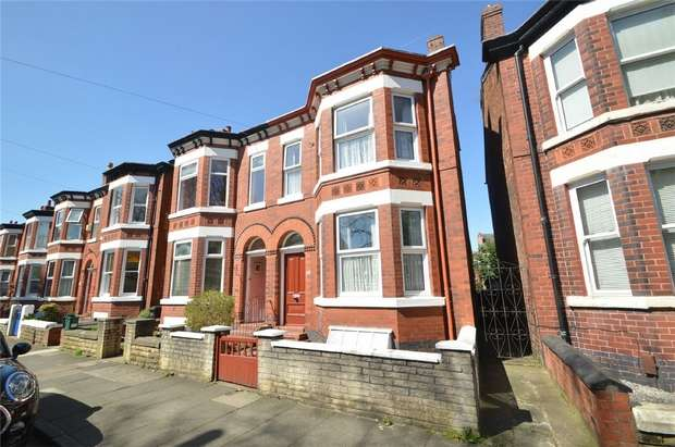 4 Bedrooms Semi Detached House for sale in Kennerley Road, Davenport, Stockport, Cheshire