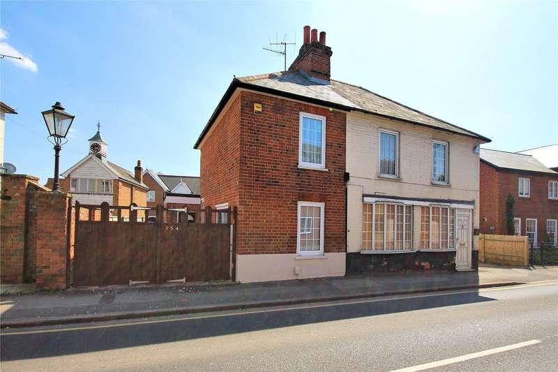 3 Bedrooms Semi Detached House for sale in High Street, Old Woking, Woking, Surrey, GU22