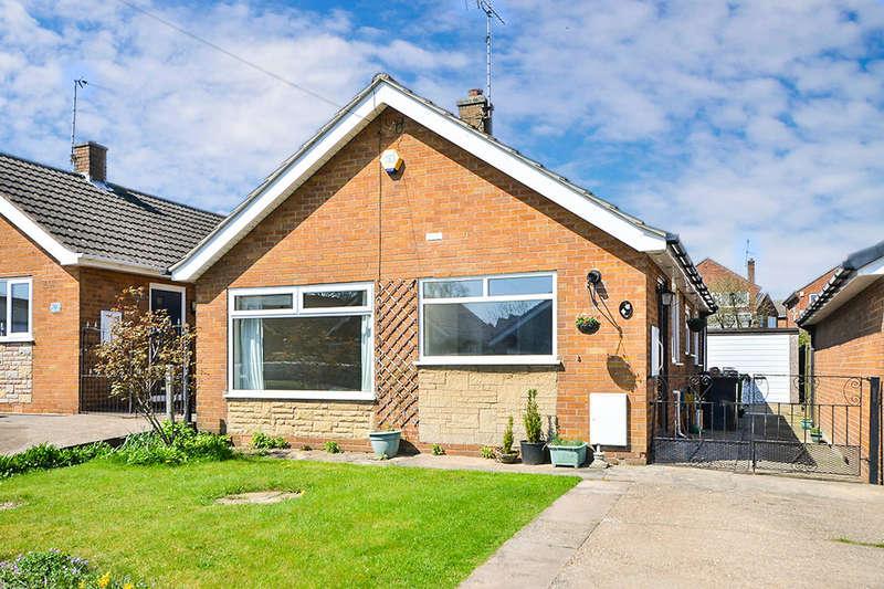 2 Bedrooms Detached Bungalow for sale in Corn Close, South Normanton, Alfreton, DE55