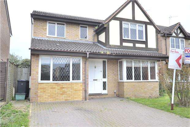 4 Bedrooms Detached House for sale in Wigmore Close, Gloucester, GL4 5FF