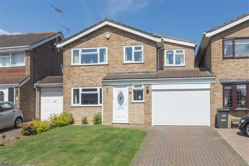 4 Bedrooms Detached House for sale in Leyhill Drive, Luton