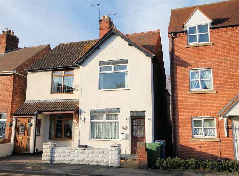 3 Bedrooms Semi Detached House for sale in Tamworth Road, Amington, Tamworth, B77 3DG