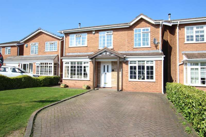 5 Bedrooms Detached House for sale in Worcester Close, Sutton Coldfield, B75 5UA