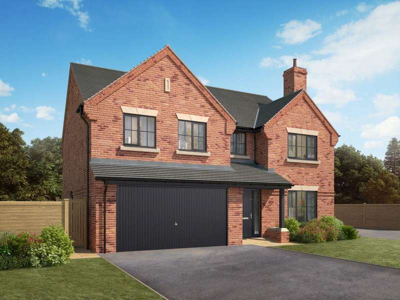 5 Bedrooms Detached House for sale in The Knightsbridge, School Lane, Sandbach