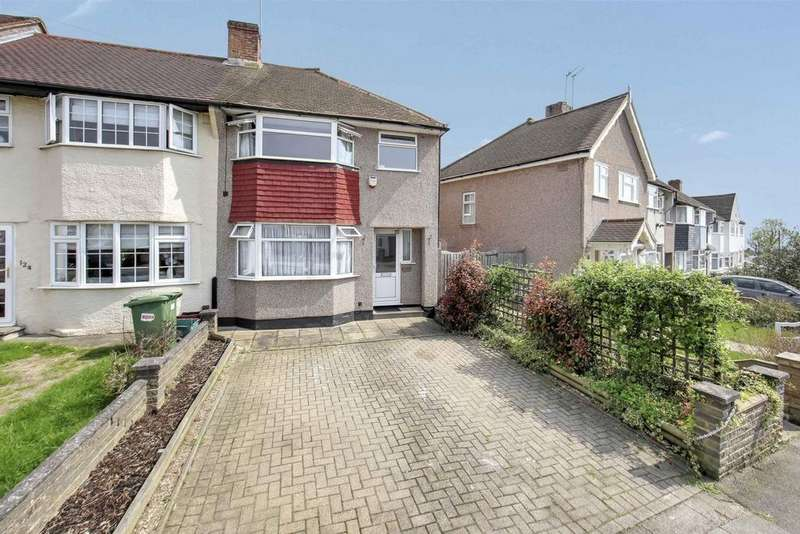 3 Bedrooms End Of Terrace House for sale in Orchard Rise West, Sidcup, DA15
