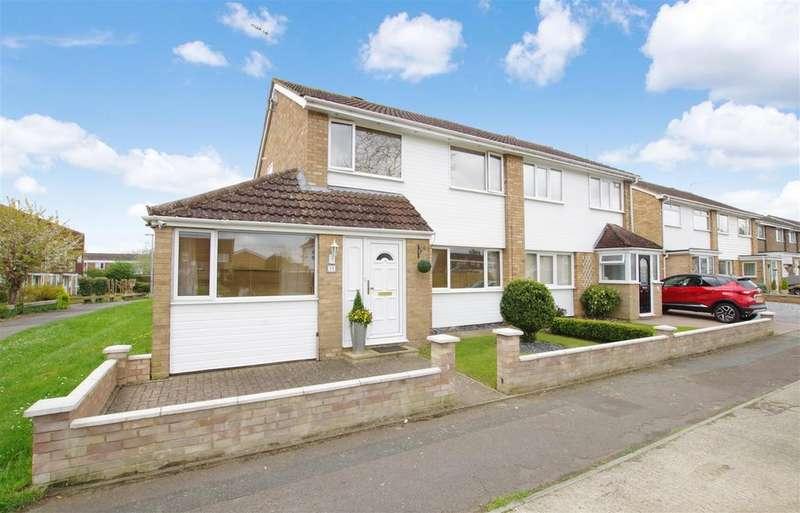 3 Bedrooms Semi Detached House for sale in Conrad Close, Liden, Swindon