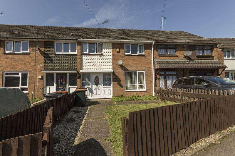 3 Bedrooms Terraced House for sale in Moore Crescent, Newport