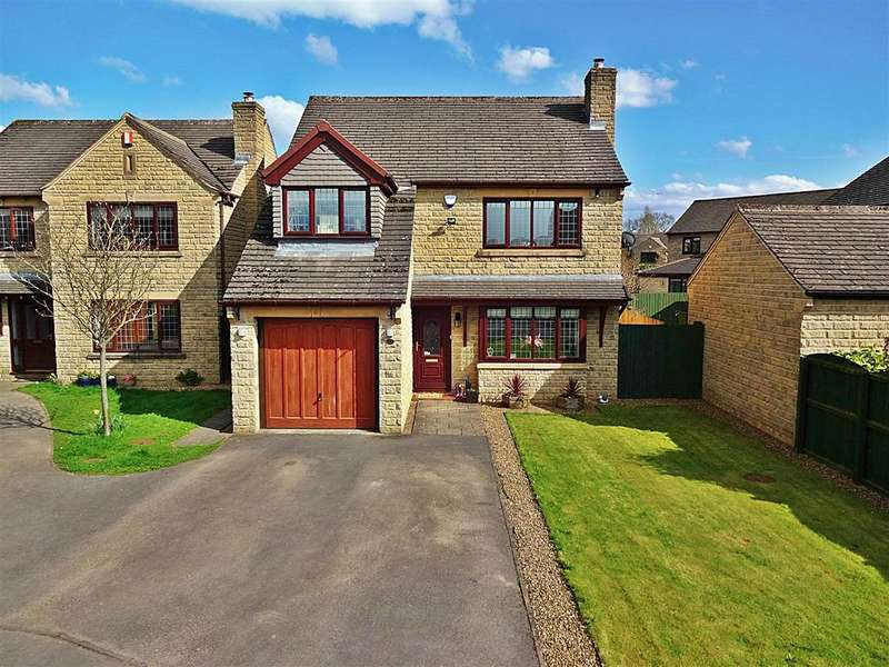 4 Bedrooms Detached House for sale in Greenholme Close, Burley In Wharfedale, Ilkley