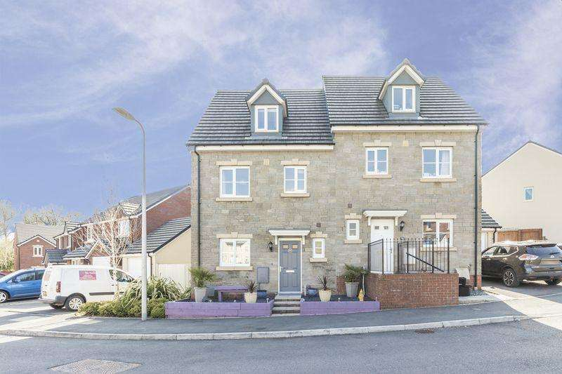 4 Bedrooms Semi Detached House for sale in Heol Y Groes, Cwmbran - REF # 00004320