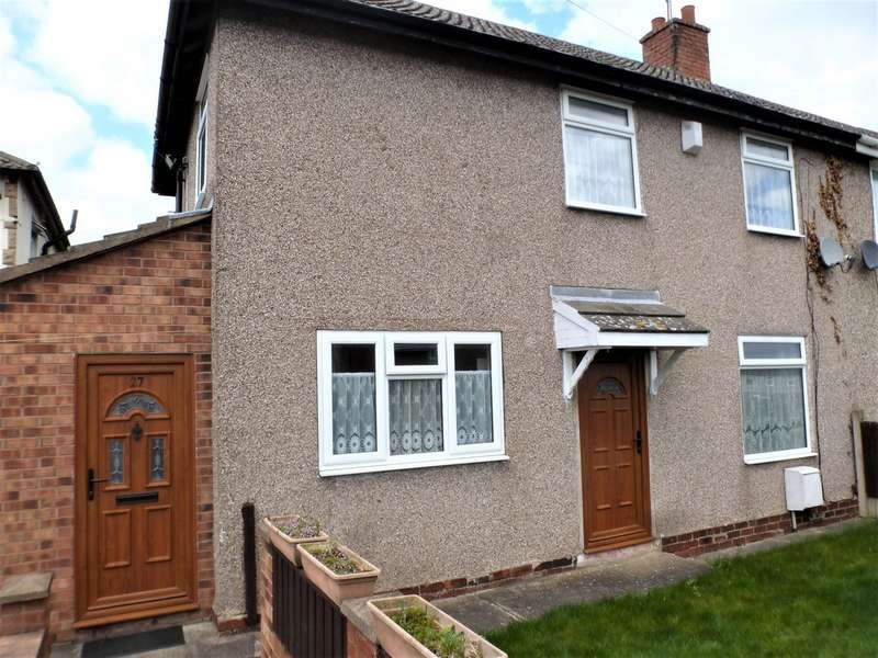 2 Bedrooms Semi Detached House for sale in Crescent Road, Havercroft WF4