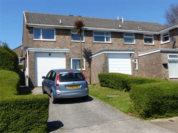 3 Bedrooms Semi Detached House for sale in Cae Bracla, Brackla, Bridgend, Mid Glamorgan