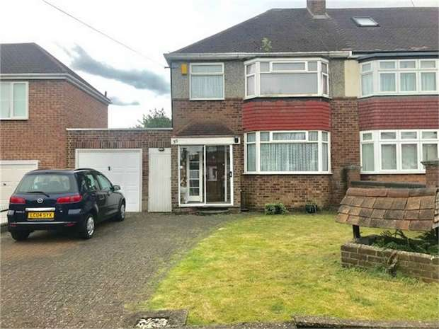 3 Bedrooms Semi Detached House for sale in Arnold Crescent, Isleworth, Middlesex