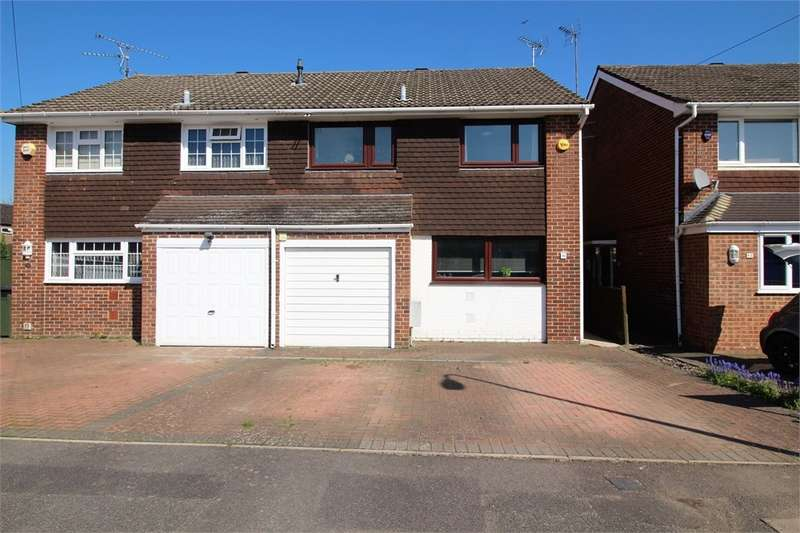 3 Bedrooms Semi Detached House for sale in Rangewood Avenue, READING, Berkshire