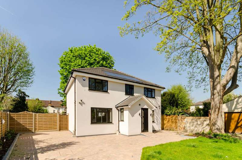 4 Bedrooms Detached House for sale in Fairmead Close, New Malden, KT3