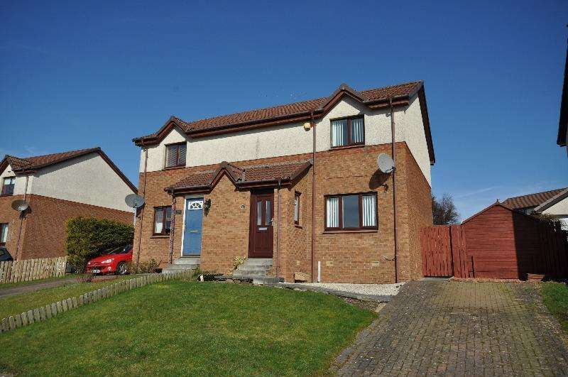 2 Bedrooms Semi Detached House for rent in Hodge Crescent, Drongan, East Ayrshire, KA6 7EH