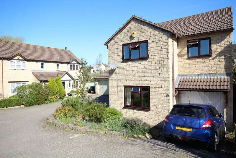 4 Bedrooms Detached House for sale in Burchill Close, Clutton