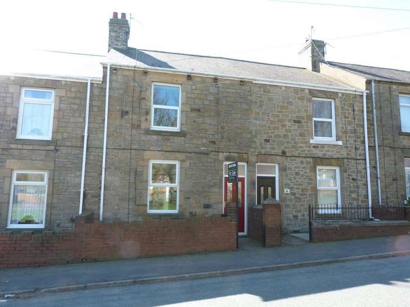 2 Bedrooms Terraced House for sale in West Road, Tantobie, Stanley
