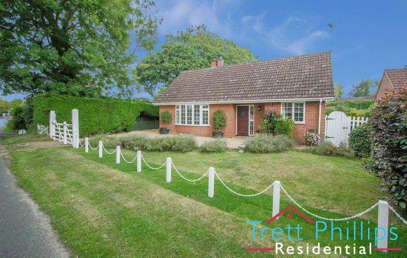 3 Bedrooms Detached Bungalow for sale in Staithe Road, Hickling