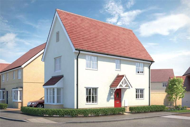 3 Bedrooms Link Detached House for sale in The Village Square, Kings Warren, Red Lodge, IP28