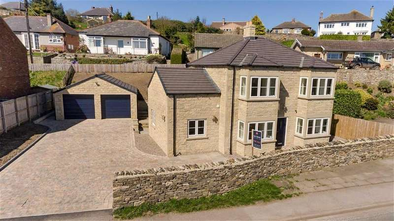 4 Bedrooms Detached House for sale in Thornborough Garth, Richmond Road, Leyburn, North Yorkshire