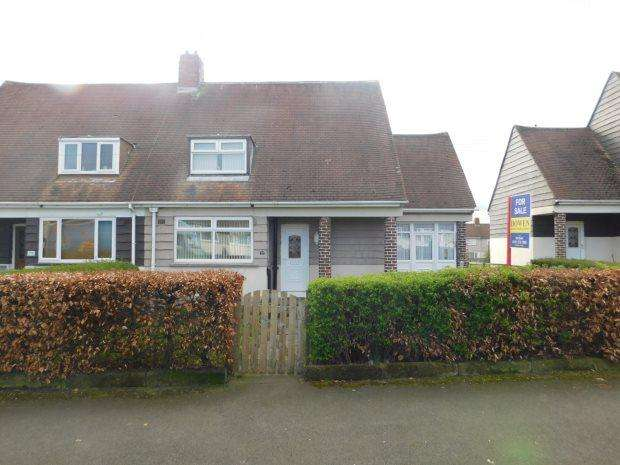 2 Bedrooms Semi Detached House for sale in GROVE ROAD, BRANDON, DURHAM CITY : VILLAGES WEST OF