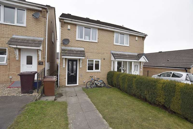 2 Bedrooms Semi Detached House for sale in The Meadows, Burnley BB12 0PA