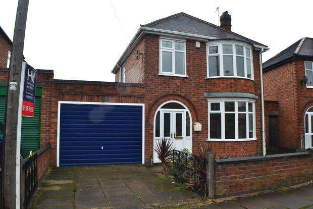 3 Bedrooms Detached House for sale in Parvian Road, Leicester, LE2