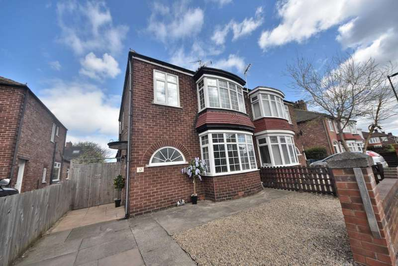 3 Bedrooms Semi Detached House for sale in Forth Road, Redcar TS10