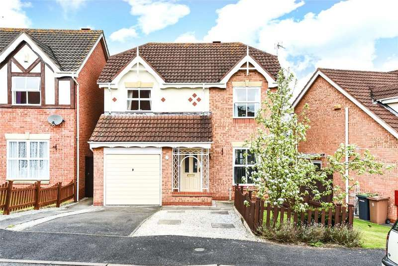 4 Bedrooms Detached House for sale in Eagle Drive, Sleaford, NG34