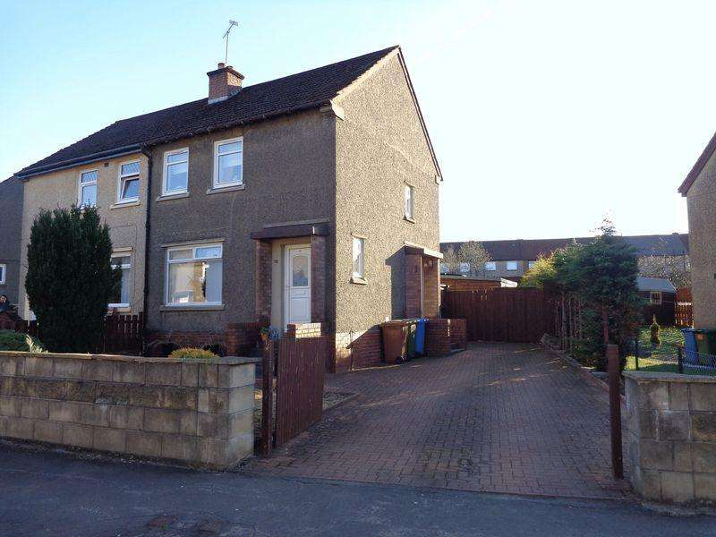 3 Bedrooms Semi Detached House for sale in 18 Delphwood Crescent, Tullibody