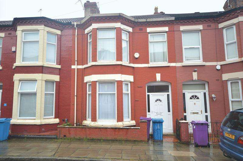 4 Bedrooms Terraced House for sale in Egerton Road, Wavertree