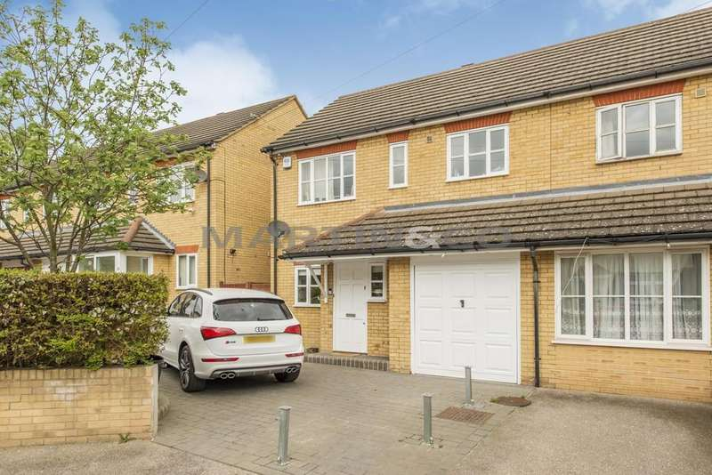 3 Bedrooms Semi Detached House for sale in Globe Road, Woodford