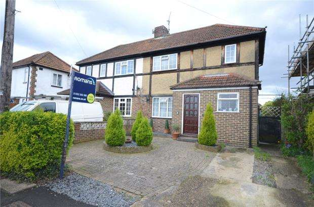 3 Bedrooms Semi Detached House for sale in Clive Road, Aldershot, Hampshire