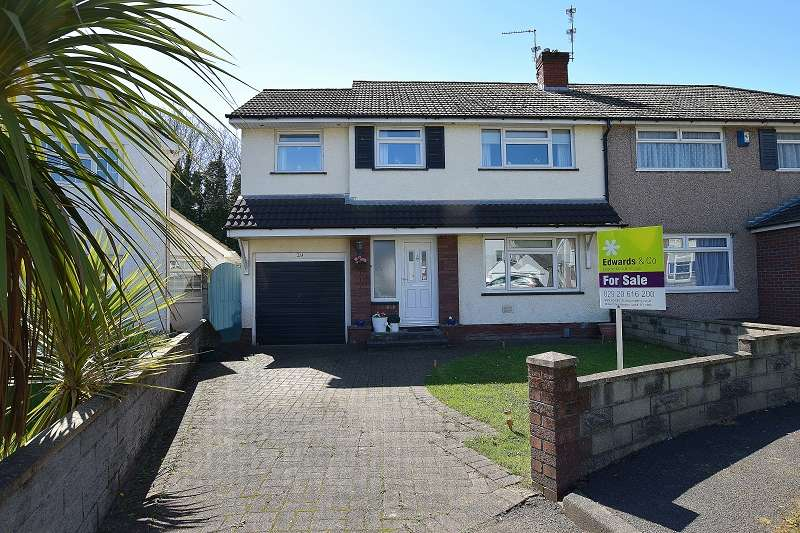 4 Bedrooms Semi Detached House for sale in Ardwyn, Pantmawr, Cardiff. CF14 7HB