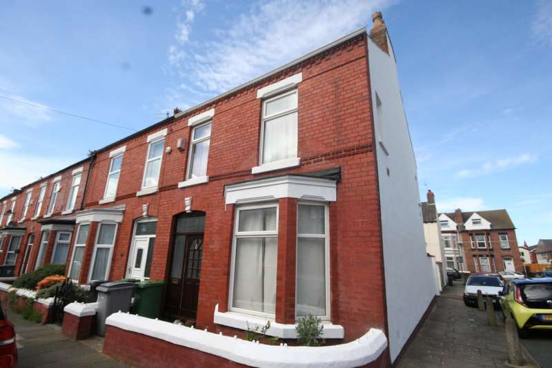 3 Bedrooms End Of Terrace House for sale in Marlwood Avenue, Wallasey, CH45 8NU