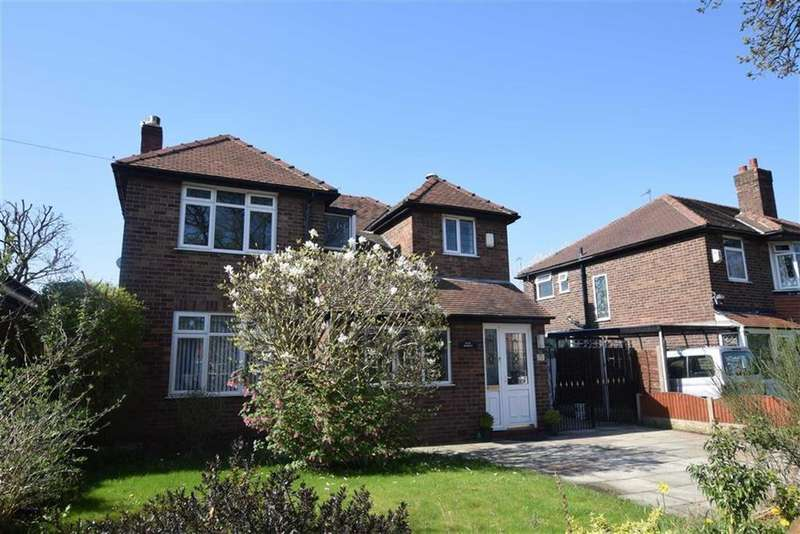 3 Bedrooms Detached House for sale in Firs Road, Sale, M33