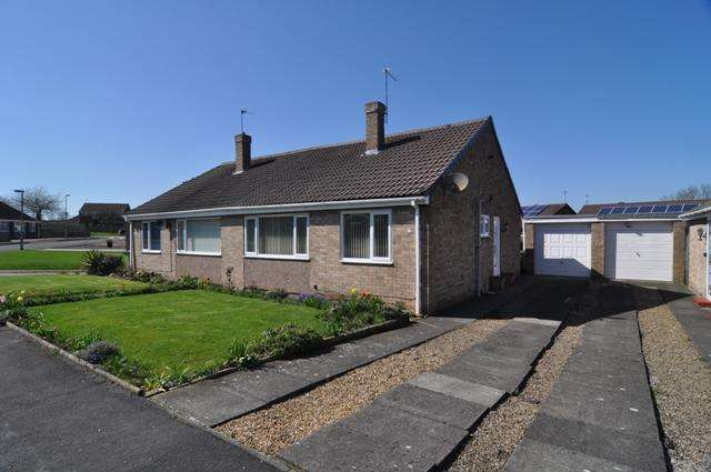 2 Bedrooms Semi Detached Bungalow for sale in Farndale, Spennymoor DL16