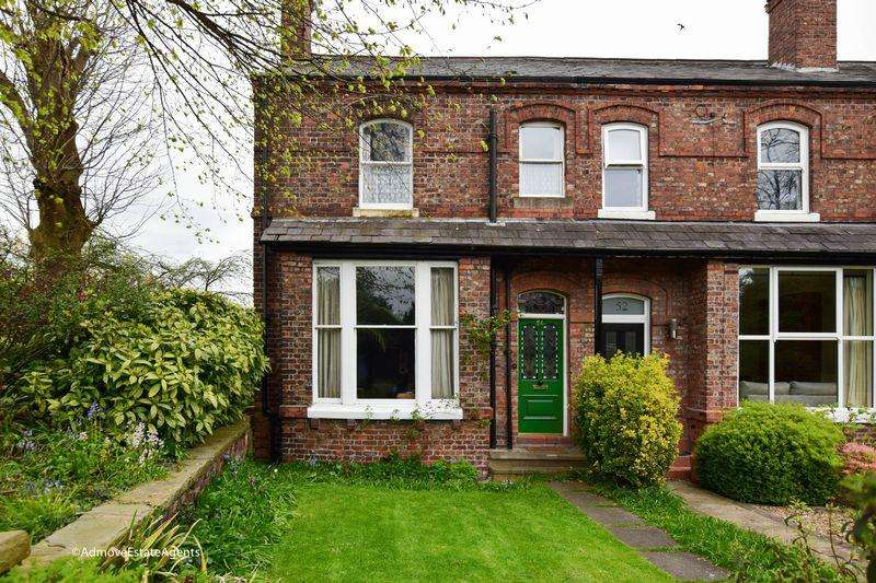 3 Bedrooms End Of Terrace House for sale in Booths Hill Road, Lymm, Cheshire, WA13