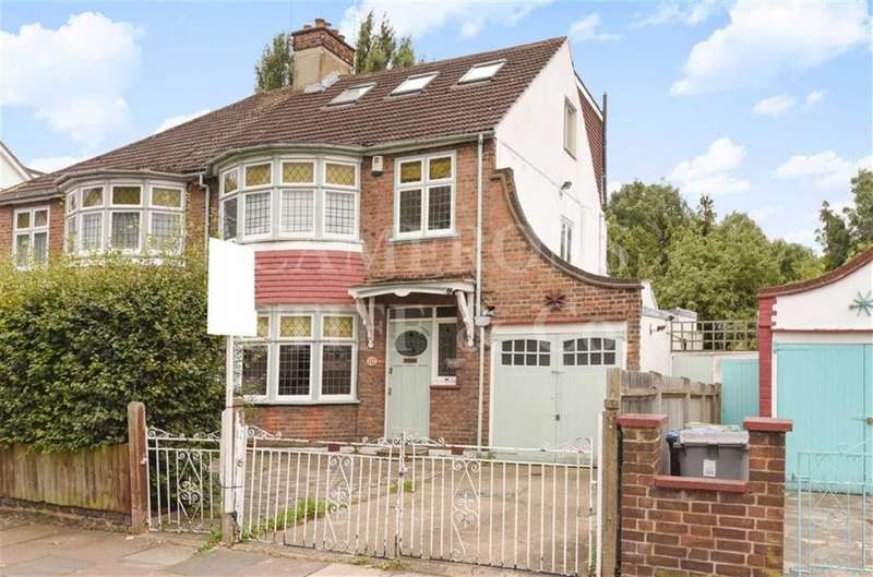 4 Bedrooms Semi Detached House for sale in Doyle Gardens, Kensal Rise, London, NW10