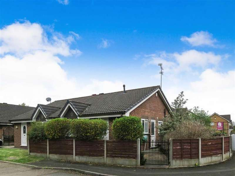 2 Bedrooms Semi Detached Bungalow for sale in Marthall Drive, Sale, M33