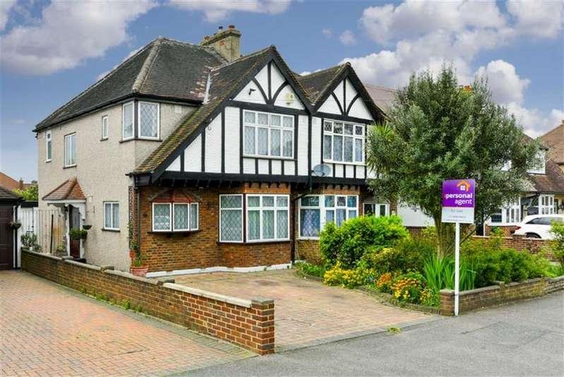 3 Bedrooms Semi Detached House for sale in Waverley Road, Stoneleigh, Surrey
