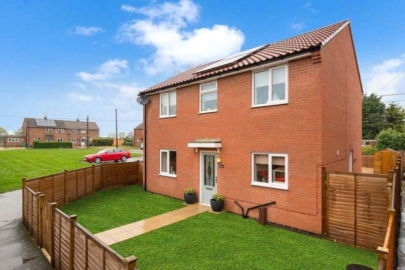 3 Bedrooms Detached House for sale in Paddocks Estate, Horbling, Sleaford, NG34