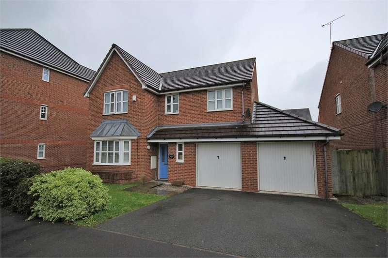 4 Bedrooms Detached House for sale in Roscommon Way, WIDNES, Cheshire