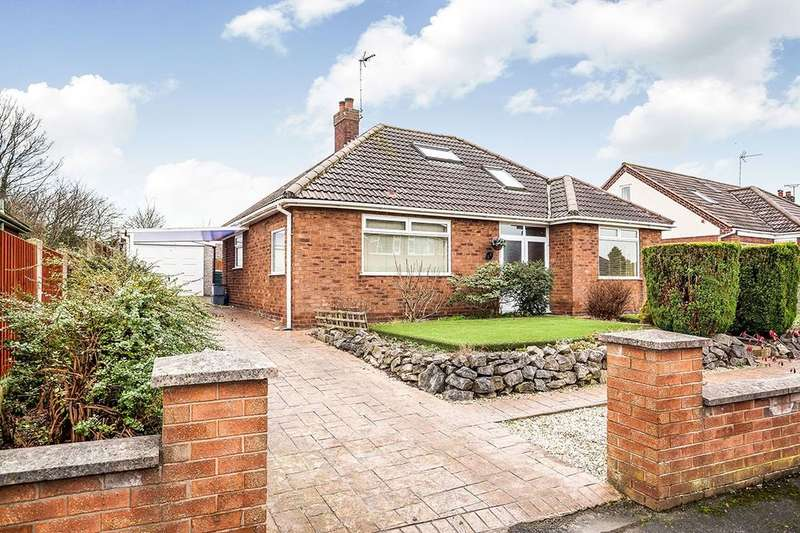 3 Bedrooms Detached Bungalow for sale in Manor Drive, Great Boughton, CHESTER, CH3