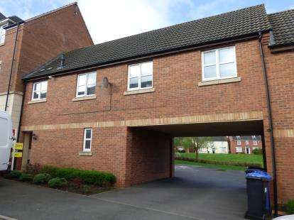 2 Bedrooms Flat for sale in Kepwick Road, Hamilton, Leicester, Leicestershire