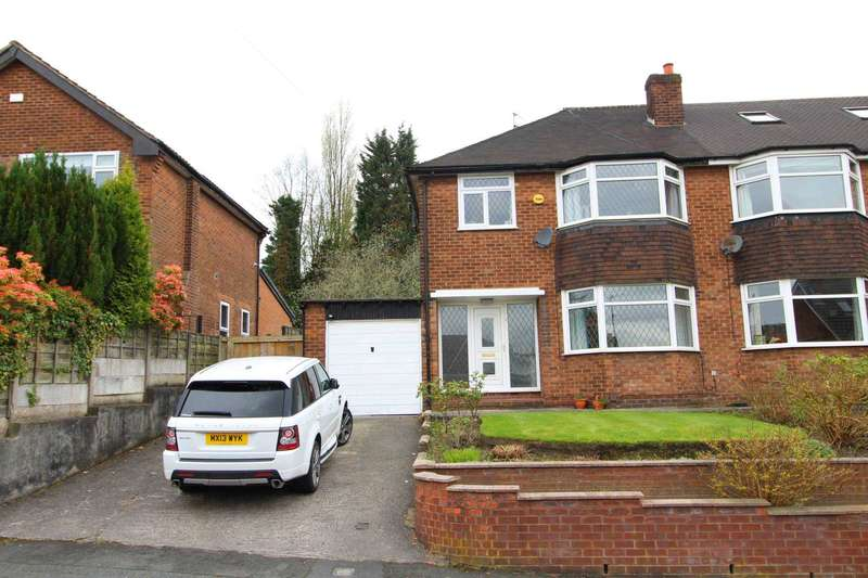 3 Bedrooms Semi Detached House for sale in Barnhill Road, Prestwich