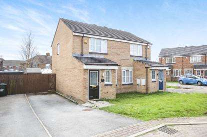 2 Bedrooms Semi Detached House for sale in Lime Vale Way, Bradford, West Yorkshire