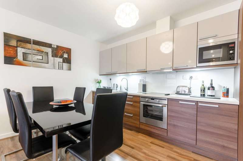2 Bedrooms Flat for sale in Carmine WHarf, Canary Wharf, E14