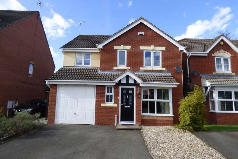 4 Bedrooms Detached House for sale in Snowdrop Close, Bedworth, CV12